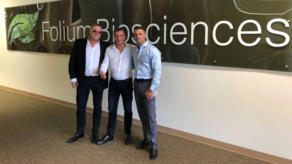 Olivier Chris & Salvatore at FoliumBioSciences